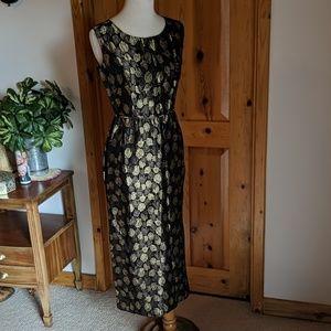1950's Jacquard Cocktail Dress